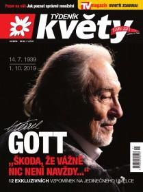 Týdeník Květy 41/2019