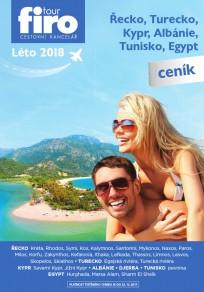 Ceník Řecko 2018
