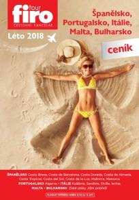 Ceník Španělsko 2018