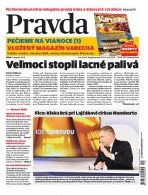 Denník Pravda 7. 12. 2018