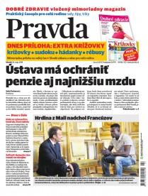 Denník Pravda 29.5.2018