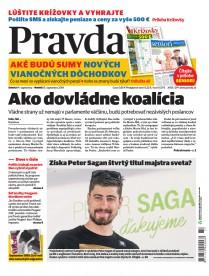 Denník Pravda 14. 9. 2019