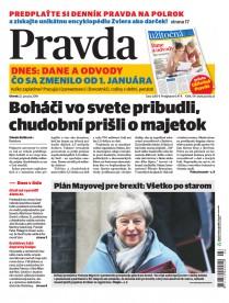 Denník Pravda 22. 1. 2019