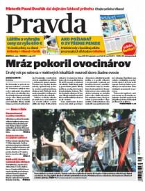 Denník Pravda 20.5.2017