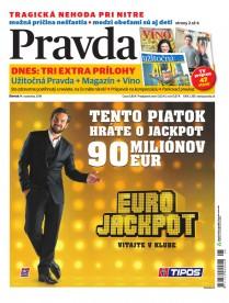 denník Pravda 14. 11. 2019