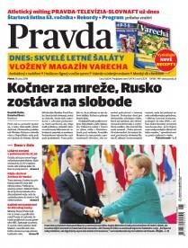 Denník Pravda 29. 6. 2018