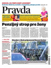 Denník Pravda 18. 10. 2018
