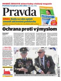 Denník Pravda 30. 8. 2017