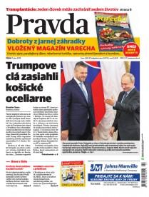 Denník Pravda 7. 6. 2019