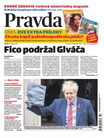 Denník Pravda 30. 10. 2019