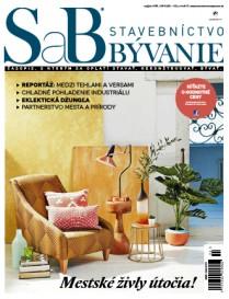 SaB - Stavebníctvo a bývanie - Máj/Jún