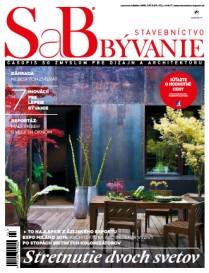 SaB - Stavebníctvo a bývanie - september/oktober 2015