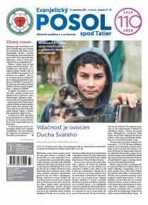 Evanjelický POSOL spod Tatier 37/38/2020