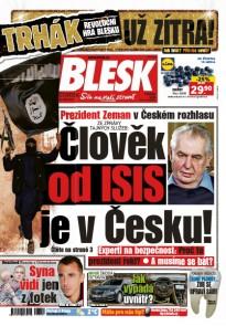 Blesk - 12.1.2017