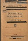 Cvičební řád pro jezdectvo (1920)