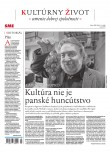 SME Kultúrny život 20/3/2020