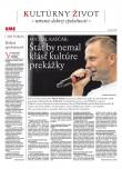 SME KULTÚRNY ŽIVOT 6/9/2018