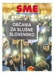 SME Občania za slušné Slovensko 5/5/2018