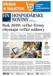 Hospodárske noviny 12.12.2018