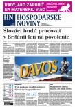 Hospodárske noviny 18.01.2017