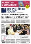 Hospodárske noviny 26.05.2017
