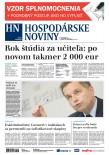 Hospodárske noviny 15.10.2018