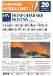 Hospodárske noviny 20.08.2019