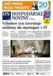 Hospodárske noviny 22.05.2018