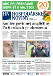 Hospodárske noviny 23.10.2018