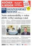 Hospodárske noviny 11.01.2019