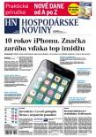 Hospodárske noviny 09.01.2017
