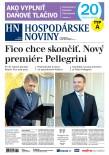 Hospodárske noviny 15.03.2018