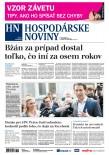 Hospodárske noviny 16.10.2017