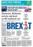 Hospodárske noviny 29.03.2017