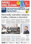 Hospodárske noviny 30.11.2018