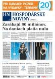 Hospodárske noviny 09.01.2018