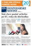 Hospodárske noviny 09.08.2018