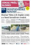 Hospodárke noviny 20.07.2018