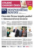 Hospodárske noviny 24.11.2017