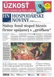 Hospodárske noviny 02.11.2018