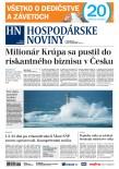 Hospodárske noviny 17.10.2017
