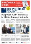 Hospodárske noviny 05.10.2018