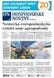 Hospodárske noviny 24.05.2018