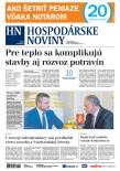 Hospodárske noviny 07.08.2018
