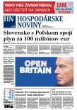 Hospodárske noviny 20.02.2016