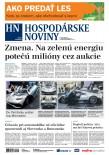 Hospodárske noviny 25.04.2018