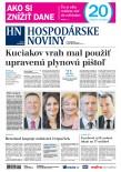 Hospodárske noviny 22.03.2018