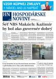 Hospodárske noviny 17.9.2018ho