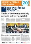 Hospodárske noviny 10.05.2018