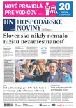 Hospodárske noviny 21.05.2019